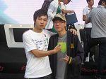 顶尖DJ刘阳与DMC冠军陈申合影