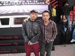 曹辉老师与09年全国冠军DJ小伟合影
