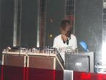 在DJ台前拍的一张