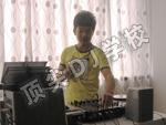 DJ小慧打碟酷照