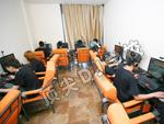 学员网吧CF游戏友谊赛