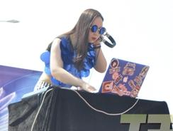 2014克拉克国际广场房产活动DJ老师丝苒准备工作