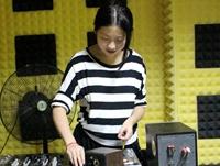 安徽DJ学员桑晨机房练习照片