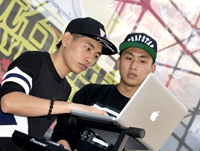 DJ AK朱桂林玩石音乐节准备ING