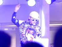 顶尖DJ学员常燕秋万圣节活动打碟现场