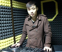 顶尖DJ学员徐凯机房练习照片