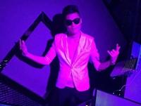 顶尖DJ学校学员张强DJ Max巴洛克酒吧做场照片
