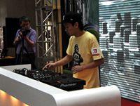 DJ刘阳2012年第十届全国DJ大赛总决赛