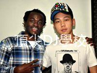 DJ刘阳老师与DJ阿诺合影