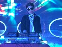 顶尖DJ在校学员张悦活动现场